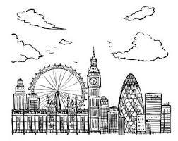 city sketch etsy