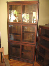 Mission Style Bookcase Arts U0026 Crafts Mission Style Antique Bookcases 1900 1950 Ebay