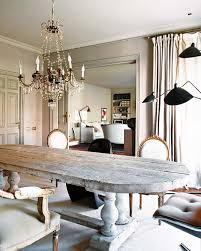 Eclectic Home Decor Gustavian Table Greaige Weathered Rustic Decorating French