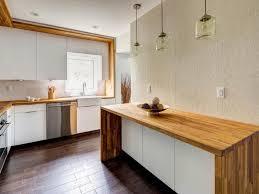 plan de travail pour cuisine blanche 1001 modèles fascinants du duo cuisine blanche plan de travail bois