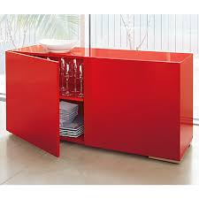 Red Modern Furniture by Fuel Red Credenza In All Furniture Cb2 Dr Chrono Decor