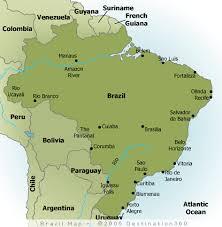 south america map rainforest the rainforest in brazil