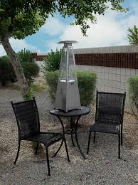 Table Top Gas Patio Heater Tabletop Quartz Glass Heater Stainless Steel Finish