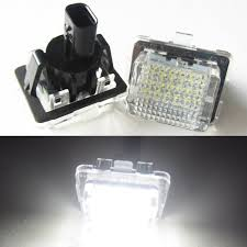 mercedes light replacement aliexpress com buy 2pcs18smd no error led number license plate