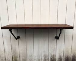 Floating Bar Table Wall Mounted Bar Etsy