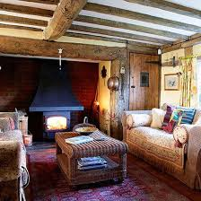 Country Style Homes Interior Country Living Room With Oak Beams Country Living Rooms Beams
