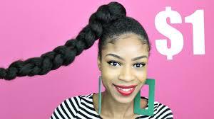 jumbo braids hairstyles pictures jumbo braid ponytail with kanekalon hair natural hair protective