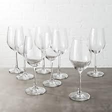 thanksgiving wine glasses cb2