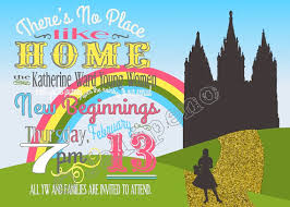 printable yellow brick road wizard of oz new beginnings night there s no place like home