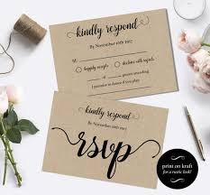 wedding rsvp postcards templates rsvp cards wedding diy
