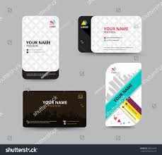 business card template name card design stock vector 288504056
