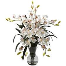 Bouquet Of Flowers In Vase Artificial Flower Arrangements You U0027ll Love Wayfair