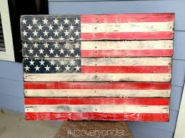 Pallet American Flag Flag Wooden Sign American Flag Pallet Wood Rustic Usa