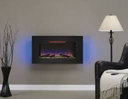 classicflame 36 in elysium infrared wall hanging electric fireplace 36ii100grg