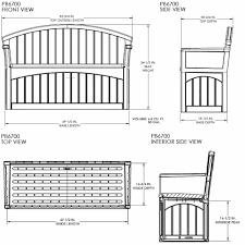 Suncast Patio Garden Outdoor Bench With 50 Gallon Storage