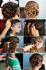 cute girl hairstyles diy best 25 dutch flower braid ideas on pinterest rose braid diy dutch