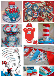 Thing One And Thing Two Party Decorations The Cat In The Hat Huckleberry Grace The Blog