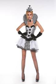 halloween cosplay costume queen of hearts backless costume