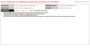 pattern maker resume beautiful pattern maker resume template photos wordpress themes
