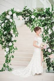 wedding arch greenery picture of lush greenery and white flower wedding arch looks