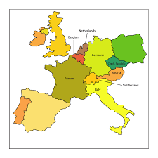 Western Europe Map by Quality U003e Quantity Jen Backpacks Europe