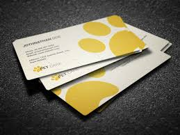 Email Business Card Templates by Pet Care Business Card Business Card Templates Creative Market