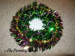 mardi gras bead wreath celebrating mardi gras how to make a mardi gras wreath