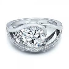 flat engagement rings flat engagement rings picture 1 ifec ci