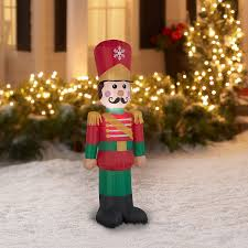 Blow Up Holiday Decorations Amazon Com Airblown Inflatable Toy Soldier 4 Foot Tall By Gemmy