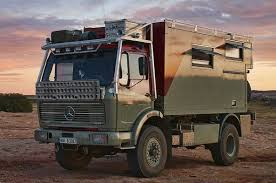 mercedes 4x4 trucks fernreisenmobil a 1978 mercedes 1017 4 4 truck as the