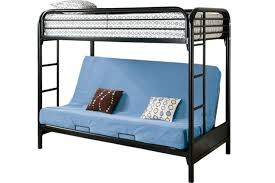 bunk bed with futon on bottom bonners furniture