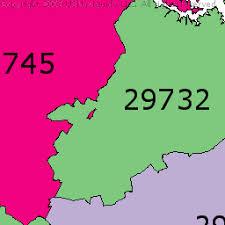 rock zip code map rock hill south carolina zip code boundary map sc