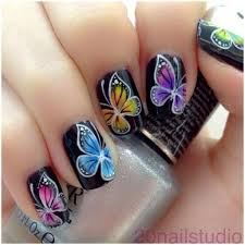 12 gorgeous butterfly inspired nail designs diy tag
