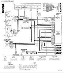 subaru stereo wiring diagram subaru wiring diagrams instruction