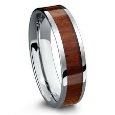verlobungsring fã r mã nner genuine koa wood 4mm 100 tungsten carbide ring northernroyal