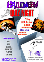 halloween quiz night redditch youth u0026 community enterprise