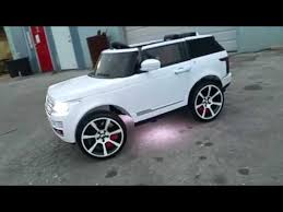 wheels range rover power wheel range rover youtube