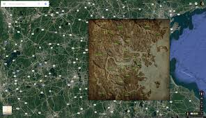 Fallout 4 Map by Fallout Maps Overlayed Games Revisited