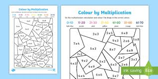 colour by multiplication colour multiplication colouring