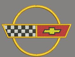 c4 corvette emblem c4 corvette emblem machine embroidery design instantly