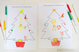 christmas drawing and listening game picklebums