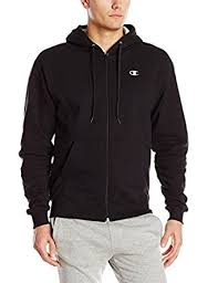 amazon com champion men u0027s full zip eco fleece hoodie jacket clothing