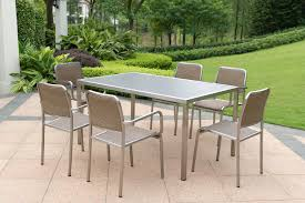 Teak Stainless Steel Outdoor Furniture by Patio Table And Chairs As Patio Covers And Luxury Steel Patio