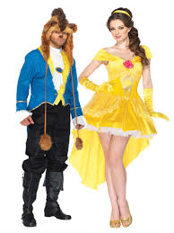 party city couples halloween costumes disney u0027s beauty and the beast 2013 costume
