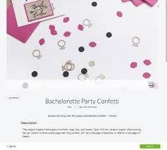party confetti bachelorette party confetti tutorial with the cricut maker make