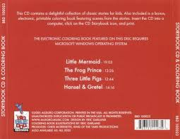 storybook cd u0026 coloring book mermaid frog prince