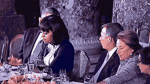 Elbows On The Table Michelle Obamas 2nd Inaugural Shovel Ready Job U2013 Lunch Elbows On