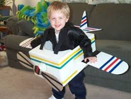 Party Box Halloween Costumes 25 Airplane Costume Ideas Cardboard Airplane