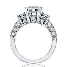tacori crescent engagement ring tacori classic crescent ht2326 pave engagement ring