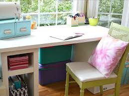 Pink Craft Room - tips to organize a craft room organized 31